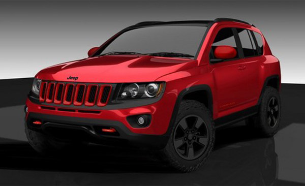 Новый Jeep Compass True North от Mopar